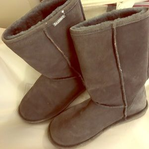 Bearpaw Boots (Tall) charcoal